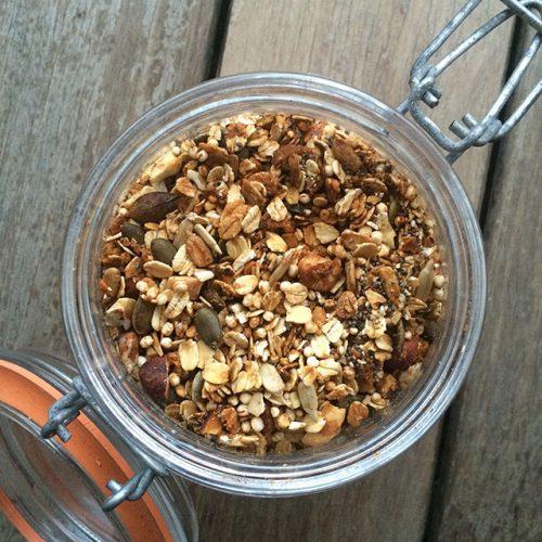 granola casera y saludable